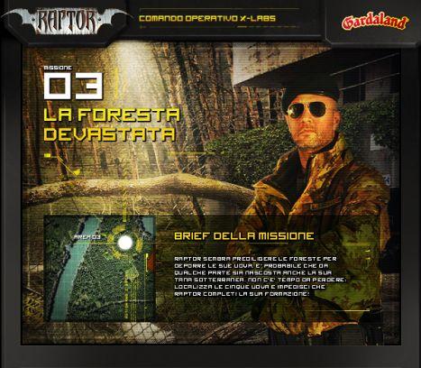 Gardaland Online la terza missione del concorso a premi